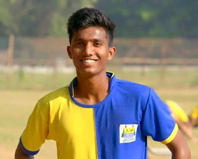 Farukh Choudhary at Lonestar Kashmir FC. Pic Courtesy : Sportsline J&K