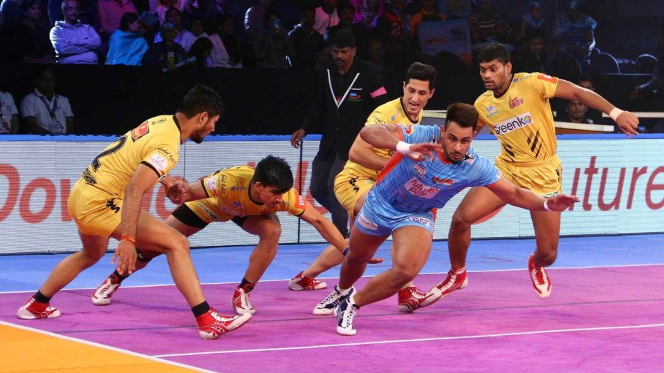 Maninder Singh Bengal Warriors Titans Telugu