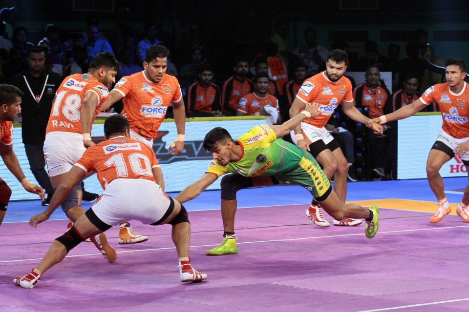 Patna Pirates Puneri Paltan