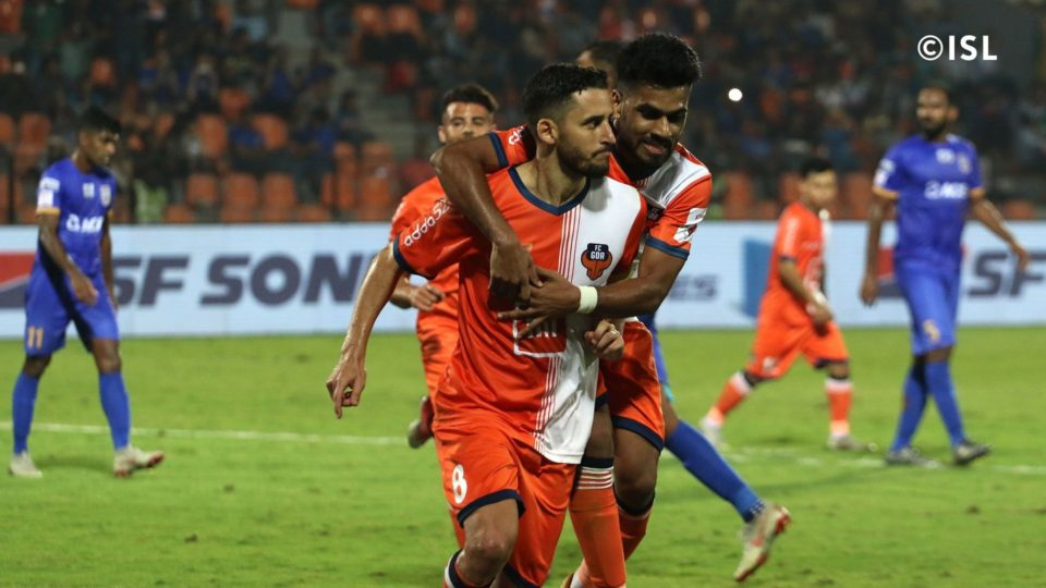 Coro Corominas FC Goa Mumbai City