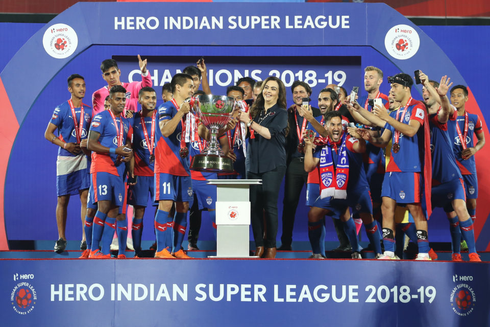 ISL Bengaluru FC Goa