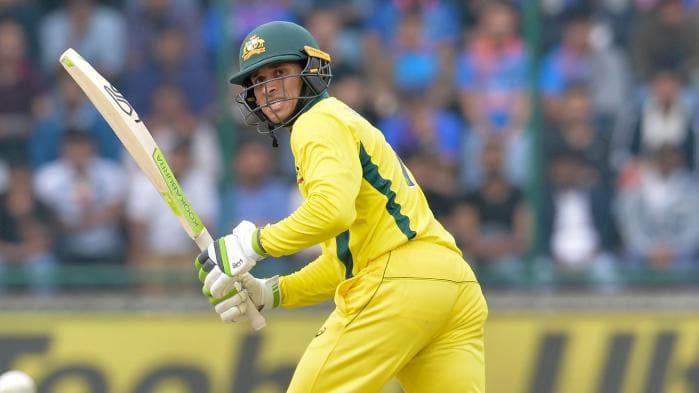 Usman Khawaja Australia India